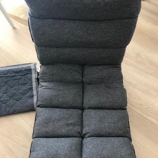 首リクライニング座椅子(ウィン) & 座椅子パッド(ジェノア)