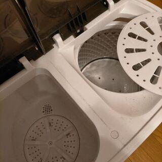 二槽式洗濯機ミニ - 家電