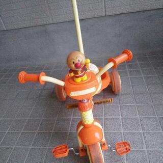 アンパンマン 棒つき三輪車