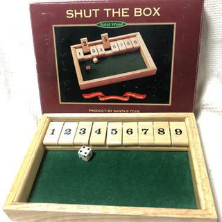 SHUT THE BOX (2人用ゲーム)