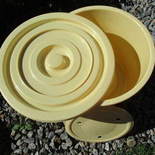 【最終処分】 大きな容器 樽 入れ物 タル  漬物樽 調理 自家製