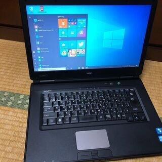 ㊵【美品、格安、Core-i5、MS-office】NEC…