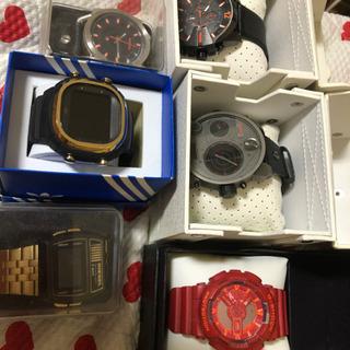 DIESEL4本 adidas Gショック 腕時計