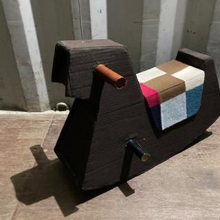 1021-13 ダンボール 子供用乗り物 おもちゃ 自作 DIY