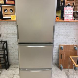SHARPシャープ SJ-W352C-N 3ドア冷蔵庫 2017年製
