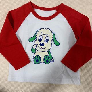 新品未使用💚80~90 わんわん Tシャツ