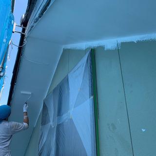 一般住宅塗装工事です!