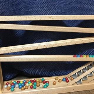 美品⭐️クーゲルバーンBeck ドイツ製 木のおもちゃ 鉄琴