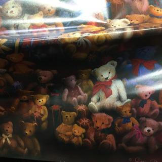 クマの包装紙