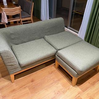 ソファ&スツール(ニトリ) - 家具
