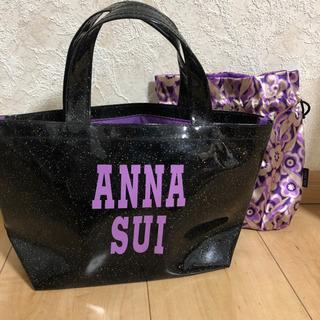 【ネット決済・配送可】ANNA SUI トートバッグと巾着セット