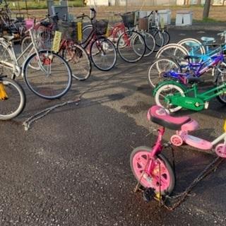 すぐ乗れる大人用・子供用自転車多数あります