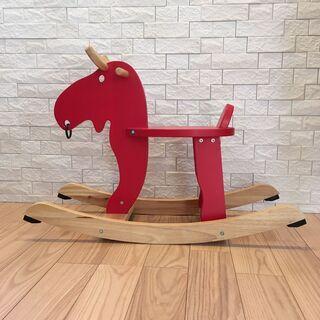 IKEA EKORRE(エコレ) 木馬(ヘラジカ)ロッキングムース