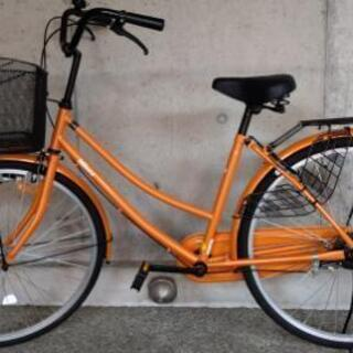 【ネット決済】26インチ自転車 ほぼ新品です