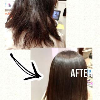 髪質改善トリートメントモニター (今なら、カラー判定3500円無料付)