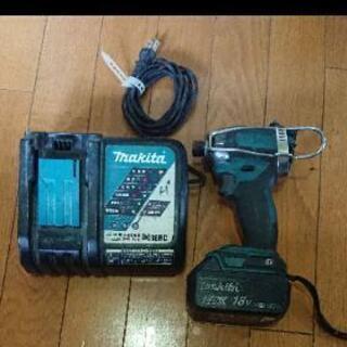 マキタ インパクトドライバー TD148D 18V バッテリー ...