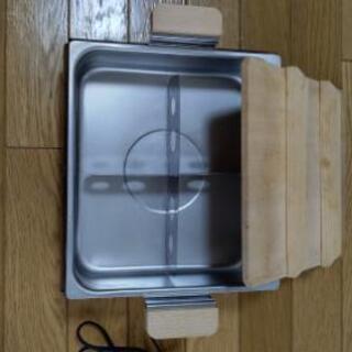 【取引完了】電気保温鍋  (おでん等) - 家電