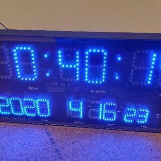 LEDデジタル時計