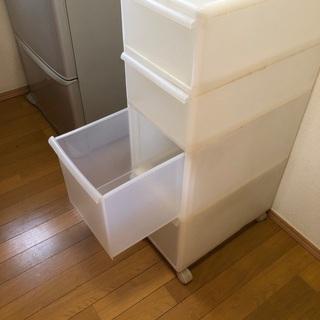 収納ケース キャスター付き - 家具