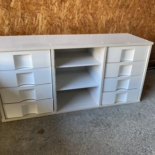 C1850 カラーボックス  棚付