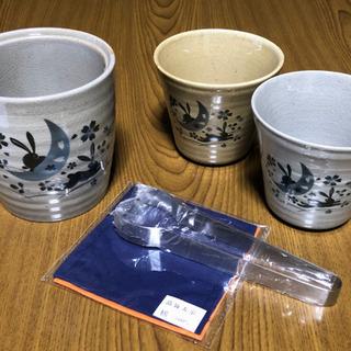焼酎ロマン 酒器セット ペアカップ の画像
