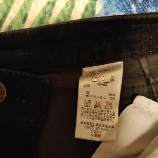 {値下げします!}コーデュロイ素材のミニスカート大きなsi…