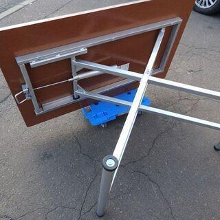 ニトリ★昇降テーブル/ダイニングテーブル/スプリング 幅 1200×奥行 750×高さ 240~750mm - 売ります・あげます