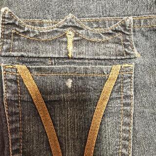 {値下します}ジーンズ(レディース大きなsize) - 服/ファッション
