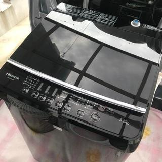 2016年製ハイセンス全自動洗濯機容量5.5キロ美品。千葉県内配...