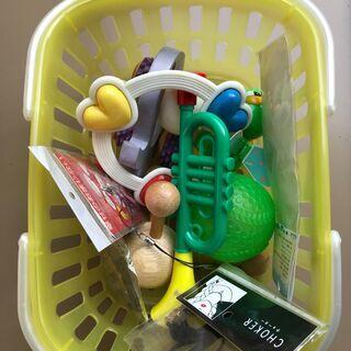 ガラガラなど小児用おもちゃ