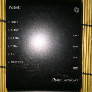 【中古】NEC Wi-Fiルーター Aterm WF1200HP2