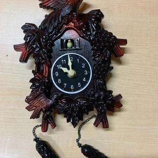 【無料】ちっちゃい鳩時計(鳩は出ません)