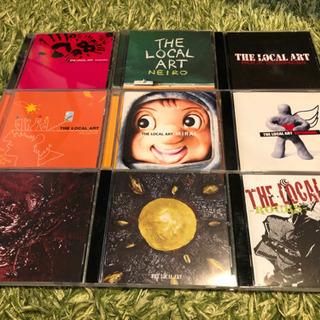 【the local art(ローカルアート)】CDアルバム9枚...
