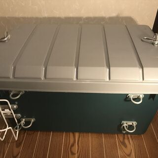 アイリスオーヤマ 収納 BOX バイク固定可 キャンツー改造仕様