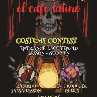 HALLOWEEN PARTY EL CAFE LATINO R...
