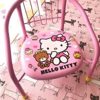 キティちゃん 豆椅子