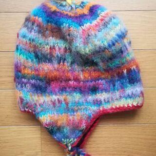 ウール ニット帽