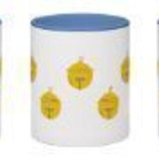 ≪鈴マーク≫のデザインがなされたオリジナルカラーマグカップ…