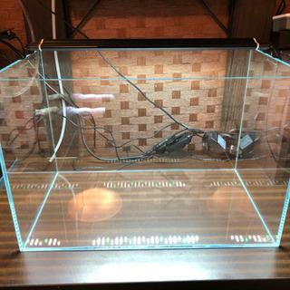 【ネット決済】ADA 45cm水槽 水温計 ライト マット付き