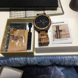 木製ので時計