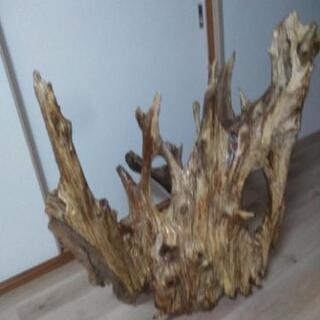 流木の置物