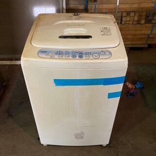 【無料】2007年製 TOSHIBA 5.0kg洗濯機 AW-1...