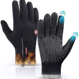 【新品・未使用】防寒手袋(ブラック・Sサイズ)