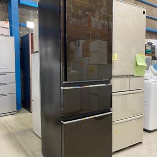 美品!2018年製 3ドア冷蔵庫 365L MR-CX37…