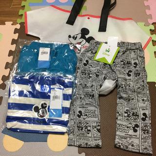 90【タグ付き未使用】ミッキー 子供服 セット