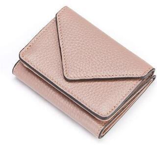 新品未使用 三つ折財布 レディース 本革 財布