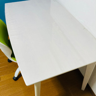【ネット決済】ニトリ ダイニングテーブル&オフィスチェア 2点