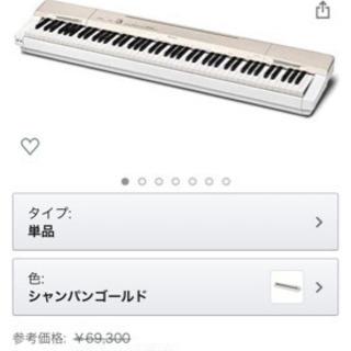 電子ピアノ Privia PX-160GD シャンパンゴールド