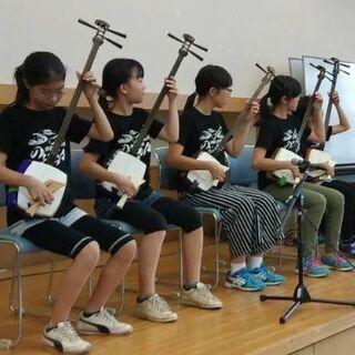 津軽三味線を一緒に弾いてみましょう!