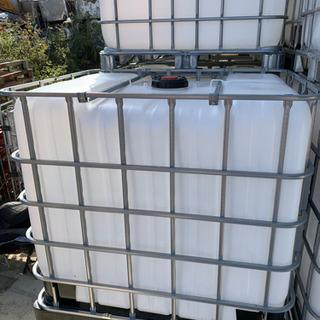 美品 水タンク 1000L 1個 大型 液体コンテナ 中古 洗浄...